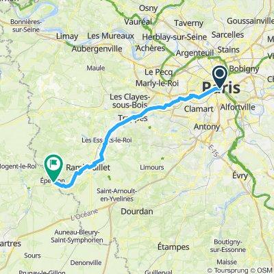 Paris-Versailles-Rambouillet-Epernon