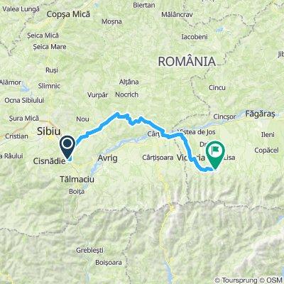 Ziua 1.1 - Valea Hartibaciului spre Sambata de Sus