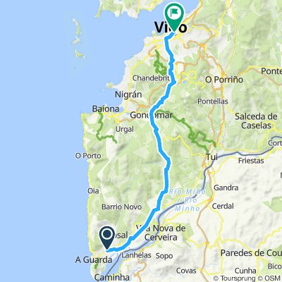 road bike to Vigo