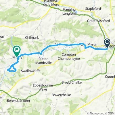 Wilton to Wardour