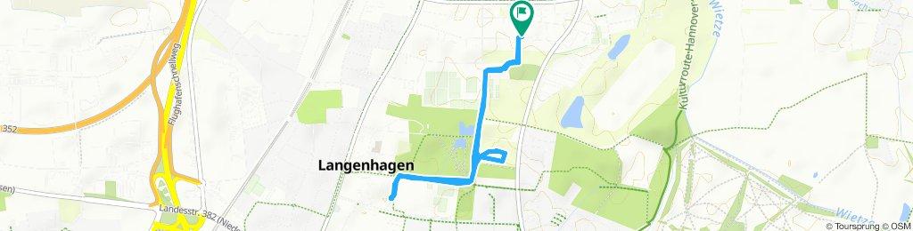 Gemütliche Route in Langenhagen