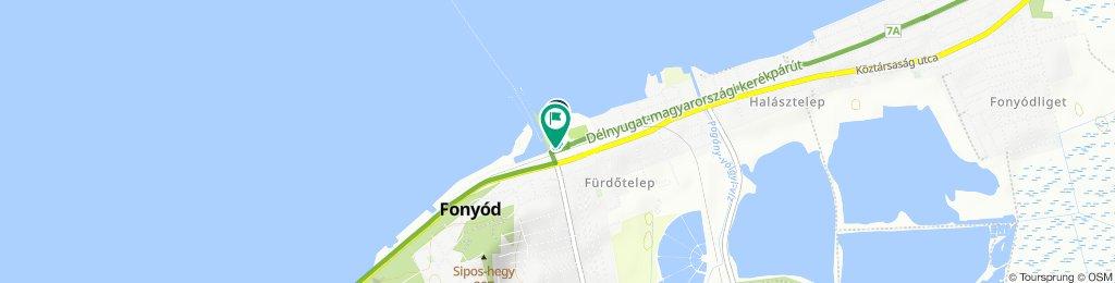 Moderate Route in Fonyód