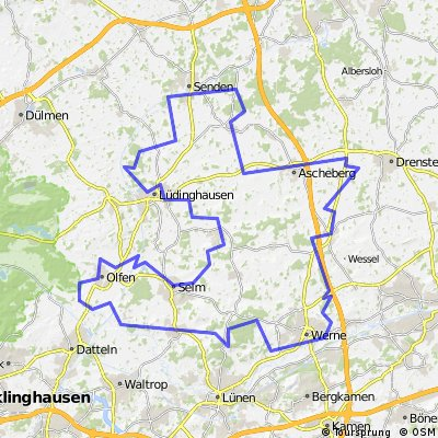 Schlösser Tour im südlichen Münsterland