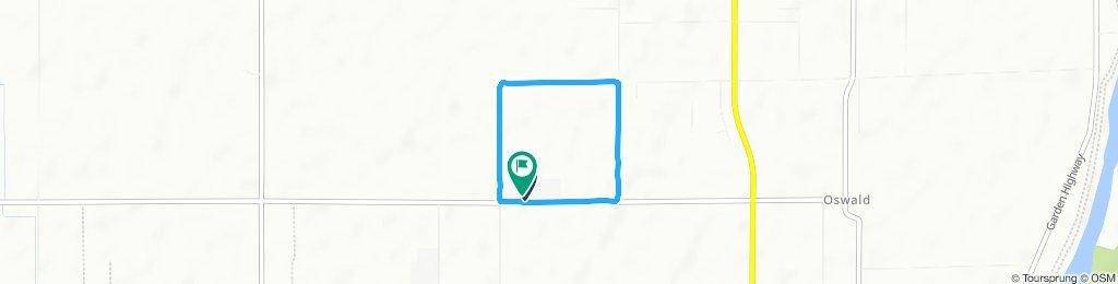 Moderate route in Yuba City