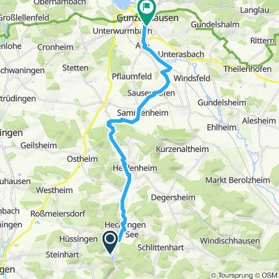 Vom Hahnenkammsee nach Gunzenhausen