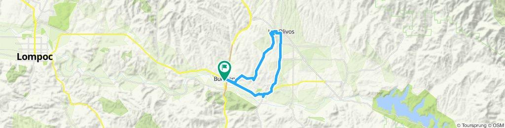Slow ride in Los Olivos