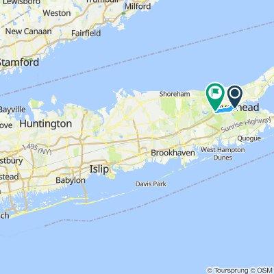 Suffolk County Central Corridor Bike Route