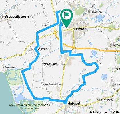 RTF ABC Wesseln 50km 160510