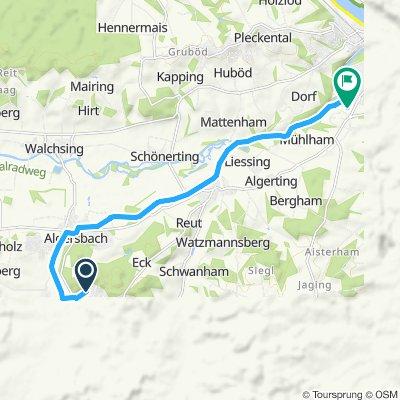 Einfache Fahrt in Vilshofen an der Donau