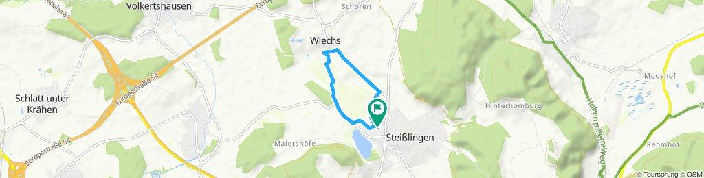 Moderate Route in Steißlingen