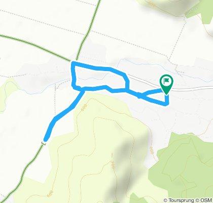 Steady ride in Ghelinţa