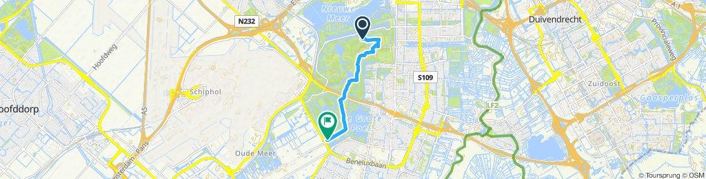 Gemütliche Route in Amstelveen