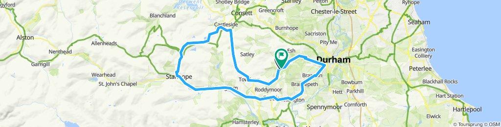 West Durham training route