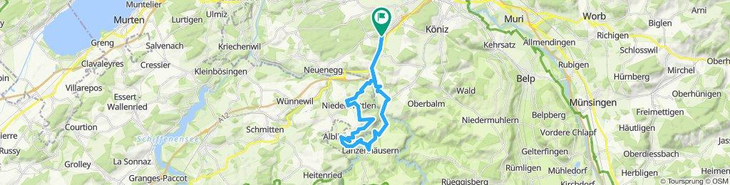 Einfache Fahrt in Oberwangen b. Bern