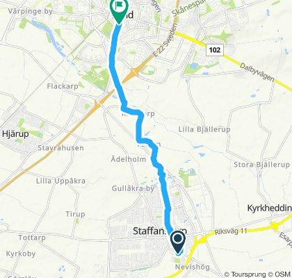 Slow ride in Lund