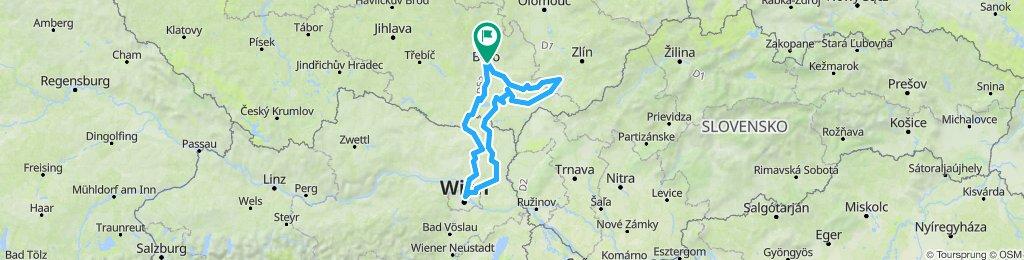 Nowa trasa Brno-Wiedeń-Morawy