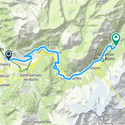 Ride 1-9 September Lake Passey to chamonix.gpx