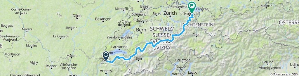 Geneva-St Gallen