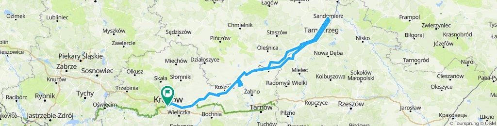Krk - Sandomierz - Krk