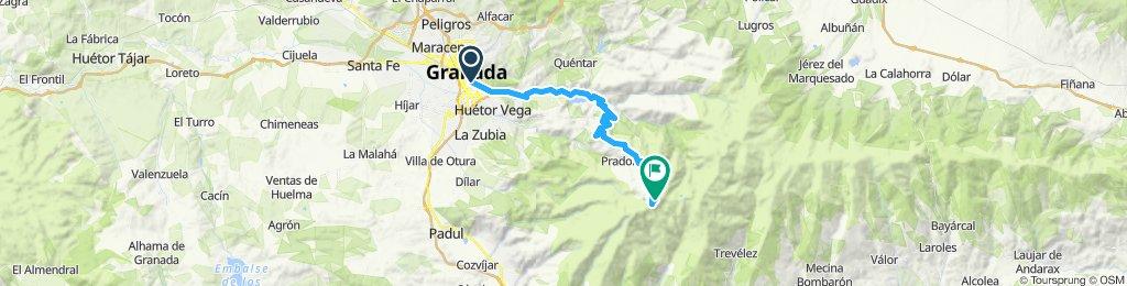 Veleta por Güejar Sierra