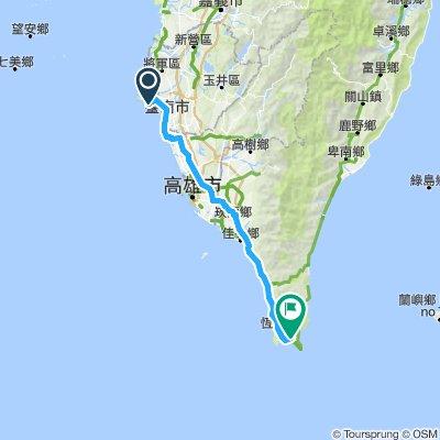 Day 3 - Tainan to Hengchun