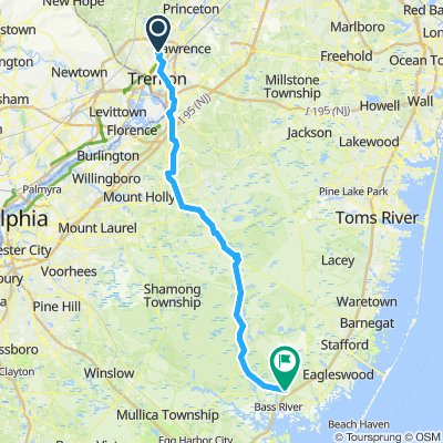 Lawrence to Bass River State Forest