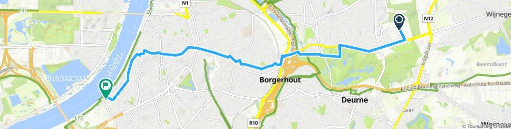 Easy ride in Antwerp