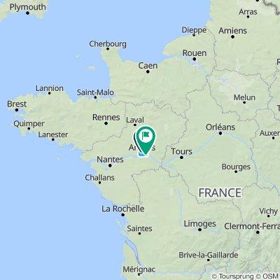 La Vélo Francette : Ouistreham - La Rochelle