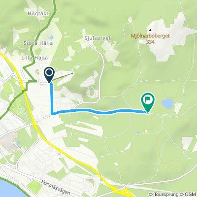 Lugnet Triathlon - Cykling 10km