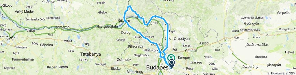 Vác - Letkés - Esztergom - Pomáz