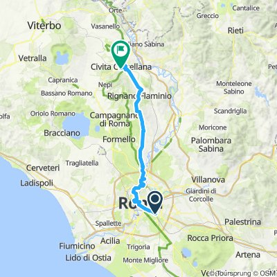 09 / ven / Roma - Civita Castellana / 73 km