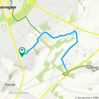 Moderate route in Harrogate