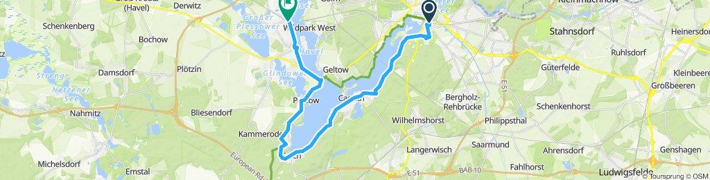 Potsdam (Bhf) - Werder (Bhf)