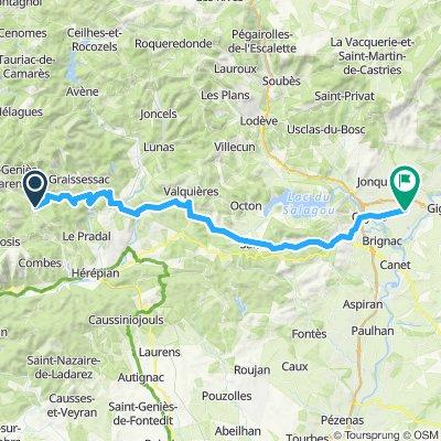 Saint Gervais to Saint Andre