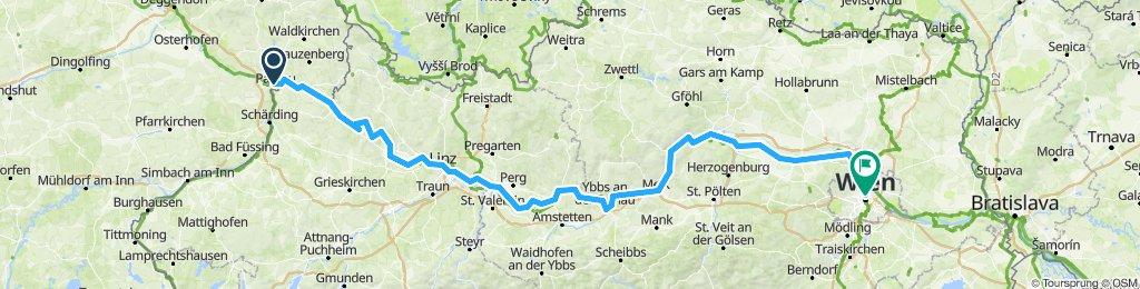 Ete 2019 Le Danube de Passau à Vienne