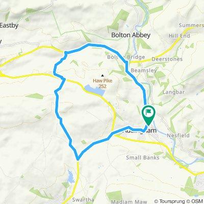 Circular route via Cringles & Draughton