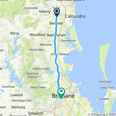 Landsborough to Brisbane