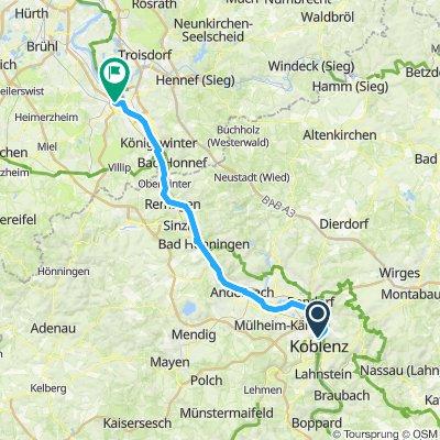 C11 Koblenz -> Bonn