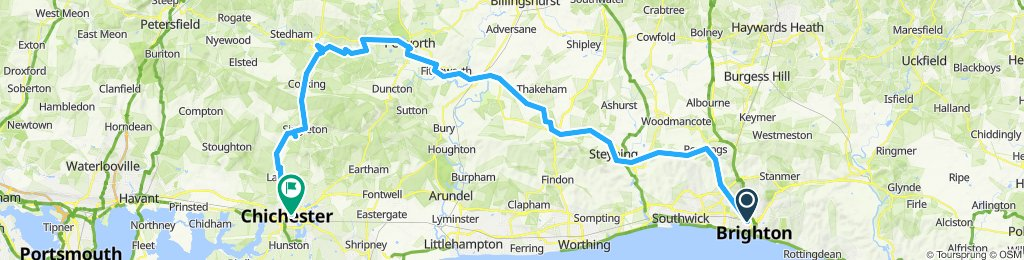 Brighton to Chichester