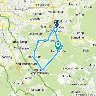 Mittelgang Strecke Möschenfeld
