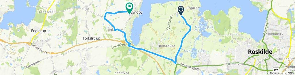 Steady ride in Kirke Hyllinge