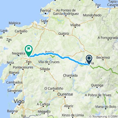 18 Sarria - Santiago de Compostela