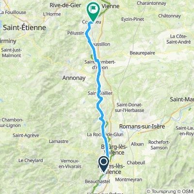 Etape 13 - Charmes sur Rhone à Condrieu - 80,1km 60D+