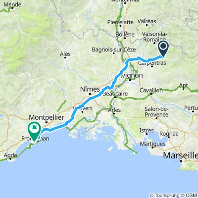 Day 3: Bedoin to Montpellier