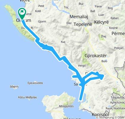 Albania terv 4-5-6-7 nap