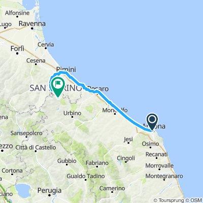 Giro d'Italia v2 10 Ancona - Mercatino Conca