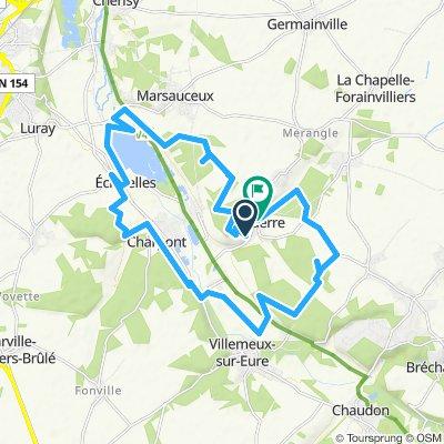 Itinéraire confortable en Ouerre
