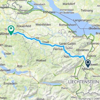 Feldkirch to winti