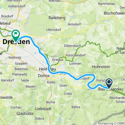 3.Etappe Elberadweg