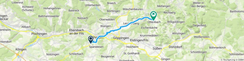 Moderate Route in Ottenbach